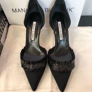 Manolo Blahnik D'Orsay Heels